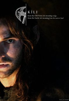 the meaning of Kíli//Wedge? Funny how in the movie that came out like possibly a wedge between Fili and Thorin.