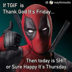 Well, S.H.I.T. ----- #Repost @indyfilmtwittic with @repostapp ・・・ #deadpool #wordsofwisdom #disney  #deadpoolbluray #civilwar #wadewilson  #mutantx  #Deadpoolmovie #ryanreynolds  #MonicaBaccarin #funnymemes #xmen #colossus  #Wolverine  #superman #dccomics #comics #jla #marvel #marvelcomics  #daredevil  #mercwithamouth  #justiceleague #cactus #nfl #football