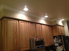 Need Help With Ugly Soffit Above Kitchen Cabinets!
