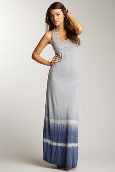 Tie-Die Maxi Tank Dress.  Cute & comfy beach dress!