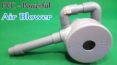 How to Make Powerful Air Blower Using 775 Motor and PVC Pipe