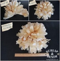 How to make tissue paper flowers from sewing patterns sewing how to make tissue paper flowers from sewing patterns mightylinksfo Gallery
