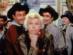 I think most of us growing up in the 50s went to see Doris Day movies - she had often more than 1 each year that released during the 50s - this one is Calamity Jane from 1953 --