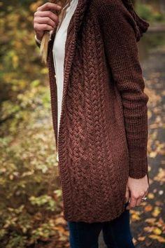 Dubline Cardigan - Knitting Patterns and Crochet Patterns from KnitPicks.com