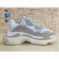 best website 718d4 0d6d1 2018 Balenciaga Triple S Sneakers White Sneakers Gray
