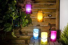 Originales propuestas para iluminar exteriores