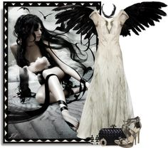 """""""Arms of an Angel"""" by jenalind ❤ liked on Polyvore"""