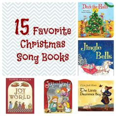 Christmas Carols for Kids....we love to pull out these song books in December and sing along with them over and over again.