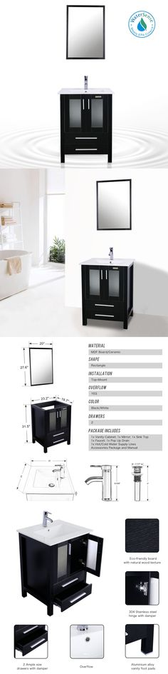 Inspiration Web Design Vanities Modern Bathroom Vanity Cabinet Vessel Ceramic Sink Drop In W Faucet Combo