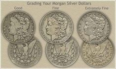 Morgan silver dollar values are rising due to strong demand. Compare your coins to the Grading images and value charts and discover your rare Morgan silver dollars.