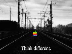 Appleの1997年のスローガン「Think Different.」をテーマに作成されたiPhone用のクールな壁紙が登場 * The Path