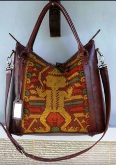 Tenun NTT with Italian Leather