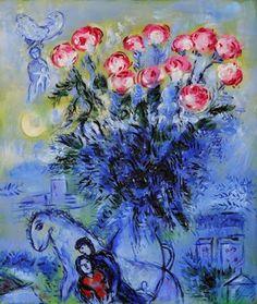 Imagen de http://1.bp.blogspot.com/-Mx3aC-R-ZFo/U9rcXnqlHmI/AAAAAAAAUPQ/VJs8Wimjb4E/s1600/360+Roses+Oil+Painting+by+Marc+Chagall.jpg.