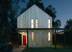 Garden Street Residence - by Austin Architect, Shane Michael Pavonetti