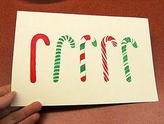 Cutting Edge Stencils - Candy Canes Stencil
