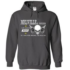 MELVILLE RULE\S Team .Cheap Hoodie 39$ sales off 50% on - #T-Shirts #fleece hoodie. MORE ITEMS => https://www.sunfrog.com/Valentines/MELVILLE-RULES-Team-Cheap-Hoodie-39-sales-off-50-only-19-within-7-days.html?id=60505