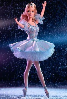 Classic Ballet Series Barbie Doll *Snowflake* Nutcracker NEW NRFB Mint