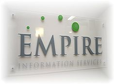 reception area signage - Google Search
