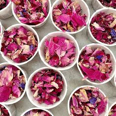Our tubs are biodegradable and compostable. Each pots includes of confetti which is a handful and suitable for one per person.