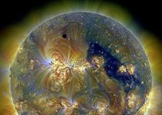 """Last June, something happened that won't be happening again until the year 2117: Venus eclipsed the Sun, the event wasn't an actual eclipse, but rather a """"transit."""" The small dot that is Venus made its way across the Sun for the second time in 8 years and the last time for more than a century."""