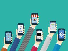Smartphone, Illustration, flat, design