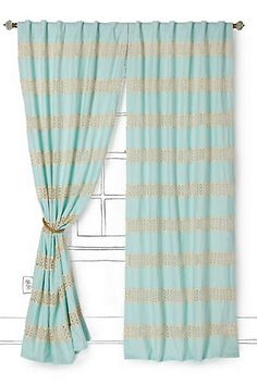 Anthropologie - Crochet Spliced Curtain