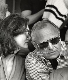 Jackie Kennedy Onassis and Jack Warnecke during 7th Annual RFK...