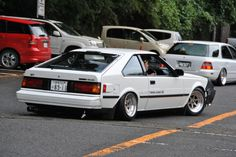 A60 Celica ST Notchback Twin-Cam on perfectly fit SSR Longchamps XR4′s