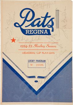 Pats: Is there a message here Regina? Graphic Design Typography, Logo Design, Alphabet Soup, Signage, Hockey, Youth, Branding, Posters, Graphics