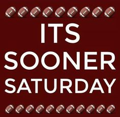 Love these dayz. #BOOMER SOONER. via: Oklahoma Football