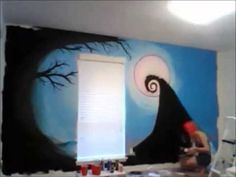 Pinchara Richhart On Nightmare Before Xmas Room  Pinterest Custom Nightmare Before Christmas Bedroom Decor Decorating Inspiration