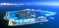地上最後の楽園タヒチ「ボラボラ島」マティラビーチ