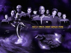 Star Trek Deep Space Nine crew/ cast | Estação: Deep Space 9 (ex-Terok Nor cardassiana)