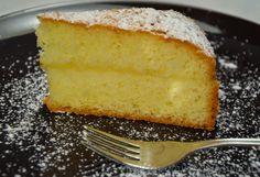 Giuli Foodie: Torta Paradiso Farcita con Crema di Limone