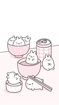 Cute Pastel Wallpaper, Soft Wallpaper, Cute Patterns Wallpaper, Cute Anime Wallpaper, Wallpaper Iphone Cute, Aesthetic Iphone Wallpaper, Pink Wallpaper Kawaii, Disney Wallpaper, Kawaii Doodles