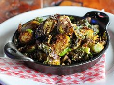 Pan Roasted Brussel Sprouts, Brussels Sprouts, Vegetarian Recipes Easy, Veg Recipes, Indian Cookbook, Indian Dishes, Food Print, Brussels Sprout
