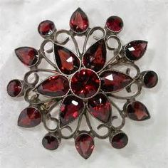 garnet brooches and pins - - Yahoo Image Search Results