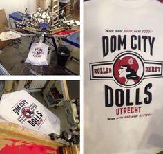 Dom City Dolls merchandise printed by Katoenfabriek.com