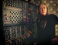 Steve Roach unlocks doors with his modular synthesizer on his recording, SKELETON KEYS. - #Steve_Roach_Music #ElectronicMusic