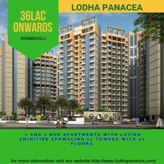 1 and 2 bhk apartments at dombivali starting from 36 LAC onwards To know more visit our website Apartments, Floor Plans, Tower, How To Plan, Website, Luxury, Computer Case, Towers, Luxury Apartments