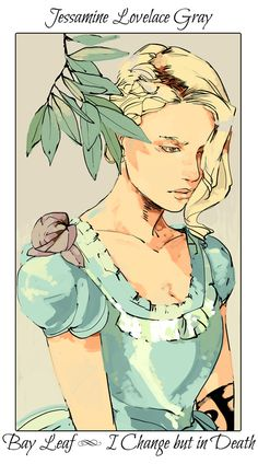 Jessamine Lovelace Gray ~ The Infernal Devices flower cards by Cassandra Jean Cassandra Jean, Cassandra Clare Books, Mortal Instruments Books, Shadowhunters The Mortal Instruments, Tessa Gray, Clockwork Princess, Clockwork Angel, Cassie Clare, Fanart