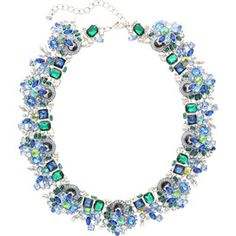 Mackenzie Necklace in Peacock