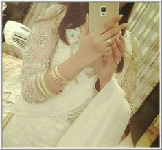 Beautiful girl in white dress hide face Dp 2016 - Facebook Display Pictures | Youthkorner.com