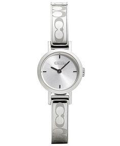 842feeac5 COACH SIGNATURE STUDIO BANGLE WATCH - Women's Watches - Jewelry &  Watches - Macy's Coach