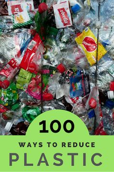 A Green and Rosie Life: 100 ways to reduce your plastic use