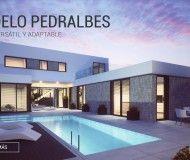 Casa prefabricada de diseño modelo pedralbes de casas inHAUS