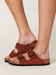 Birkenstock Arizona - sometimes I'm tempted to just go with the old standard!