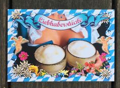 Die ideale Postkarte fürs Oktoberfest