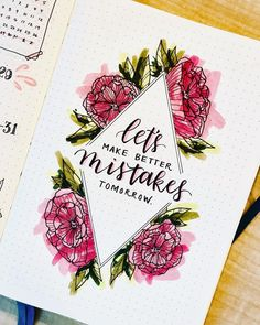 Nothing is going change without a bit of effort, but these Bullet Journal layouts should help keep you focused as you try and pick yourself up. - 8 Bullet Journal spreads to make you feel better - Journal Junkies Bullet Journal Inspo, Bullet Journal Spreads, Self Care Bullet Journal, Bullet Journal Quotes, Bullet Journal 2019, Bullet Journal Grade Tracker, Monthly Bullet Journal Layout, Journal Inspiration, Journal Ideas