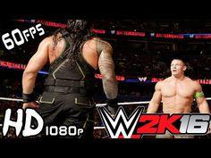 WWE 2k16 | Roman Reigns vs John Cena | extreme moments Online Ranked vs ...